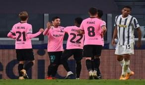برشلونة ينتزع الفوز من يوفنتوس