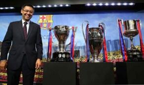 """رئيس برشلونة المستقيل يُفجر مفاجأة بشأن الدوري الأوروبي الممتاز.. و""""يويفا"""" غاضب"""