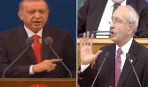 زعيم المعارضة التركية لـ أردوغان: أحرق حقيبة زوجتك الفرنسية.. وتخلص من قصرك الراقي