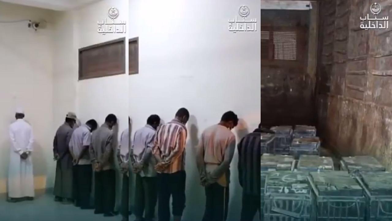 بالفيديو.. القبض على 10 معتدين على أجهزة الرصد الآلي بجدة