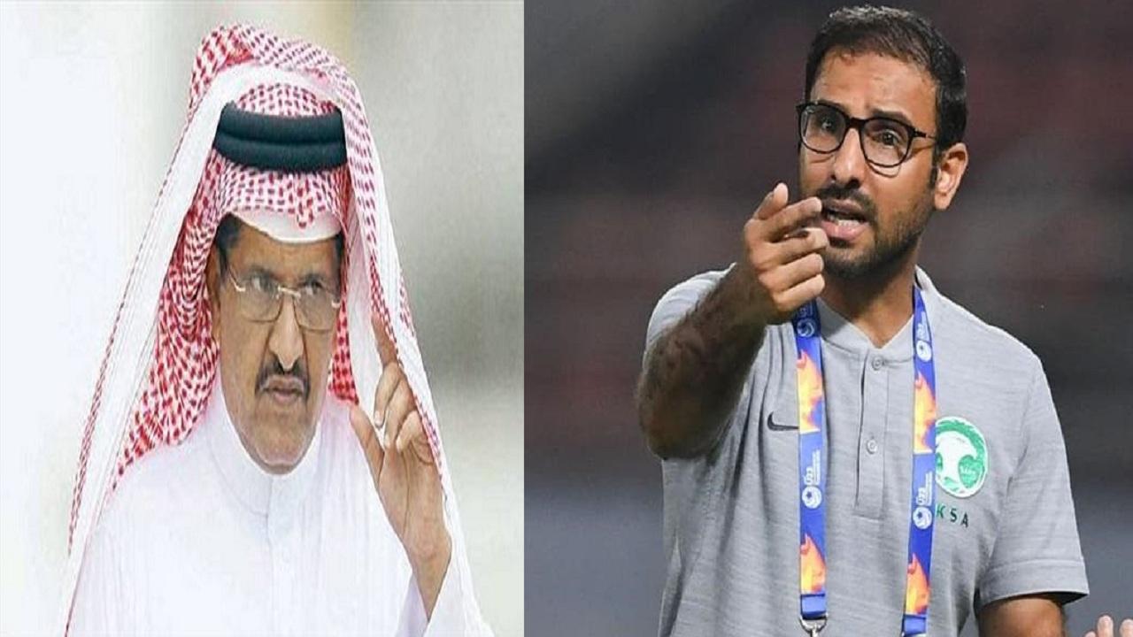 عدنان جستنية: سعد الشهري مدرب للأولمبي أم للنصر؟