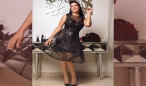 بفستان شفاف وبوكية ورد.. الفنانة سمية الخشاب تحتفل بعيد ميلادها