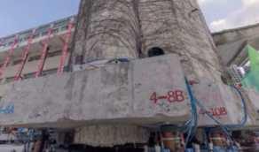 بالفيديو.. بناية عمرها 85 عاماً تتحرك من موقعها