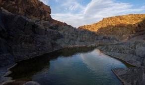 جمال الطبيعة في قرية الورد بمحافظة العلا