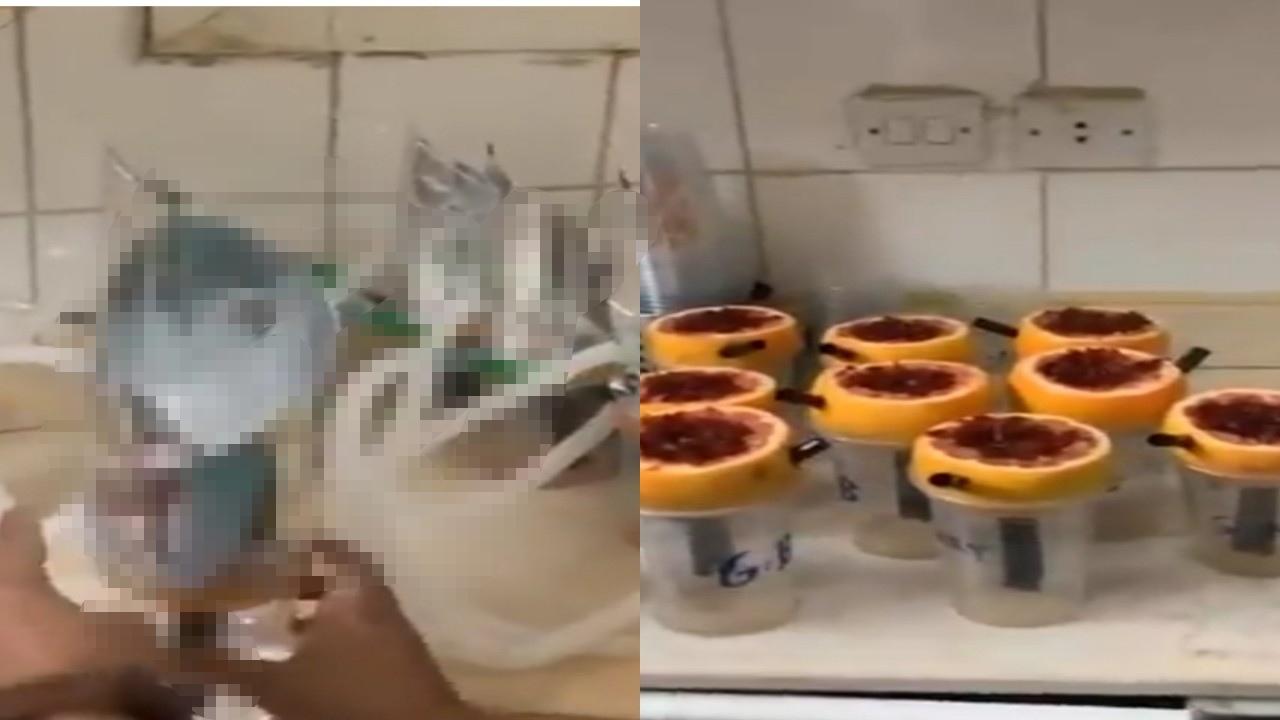 بالفيديو.. مداهمة لشقة عمالة تصنع «شيشة» مضروبة بطريقة عجيبة