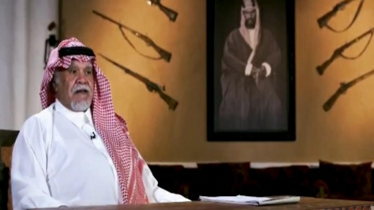 """شاهد.. الأمير بندر بن سلطان: """" أبو عمار حاول الاستيلاء على الأردن ولبنان يدفع الثمن """""""