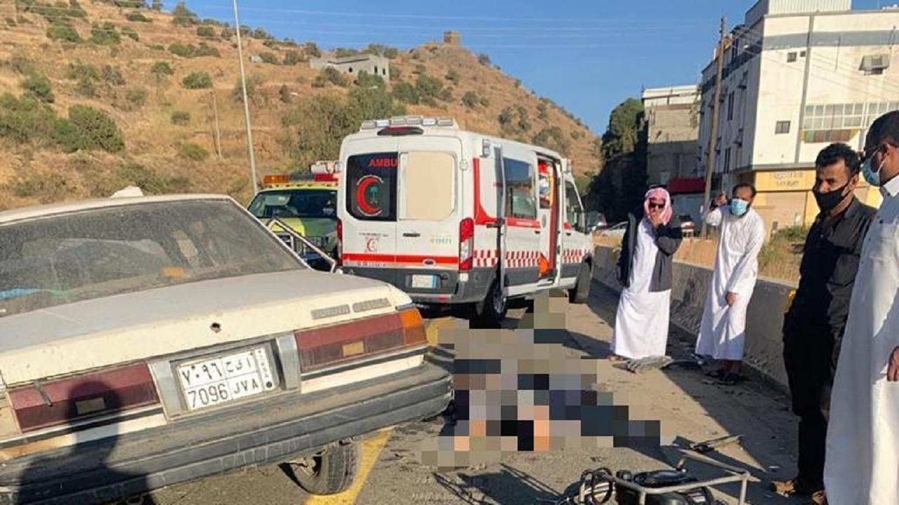 وفاة وإصابة 4 أشخاص في حادثين منفصلين بالباحة