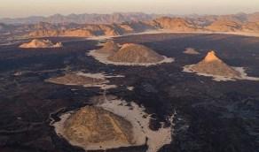 صور بديعة لأقدم الفوهات البركانية الخلابة غرب المملكة