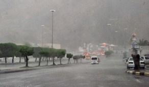 أمطار رعدية ورياح نشطة في بعض مناطق المملكة على مدار 4 أيام