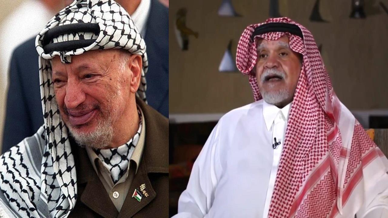 بندر بن سلطان: ياسر عرفات كان يريد الموافقة على كامب ديفيد لولا تهديد الأسد له