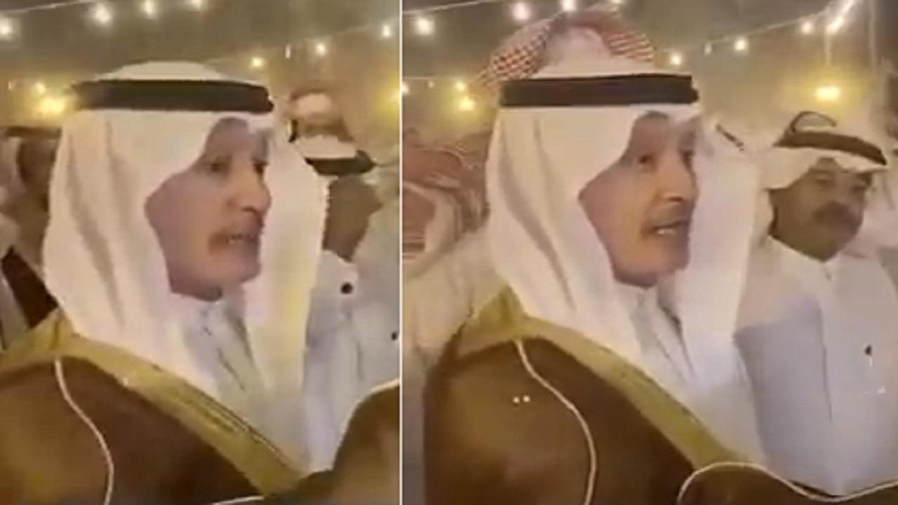 بالفيديو.. الأمير فهد بن مساعد آل سعود يقدم اعتذاره لأهالي قيا