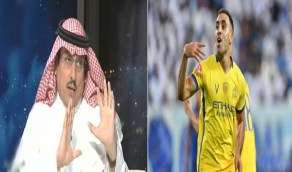 """""""الدويش"""" يطالب النصر بالتعاقد مع مهاجم غير """"حمد الله"""""""