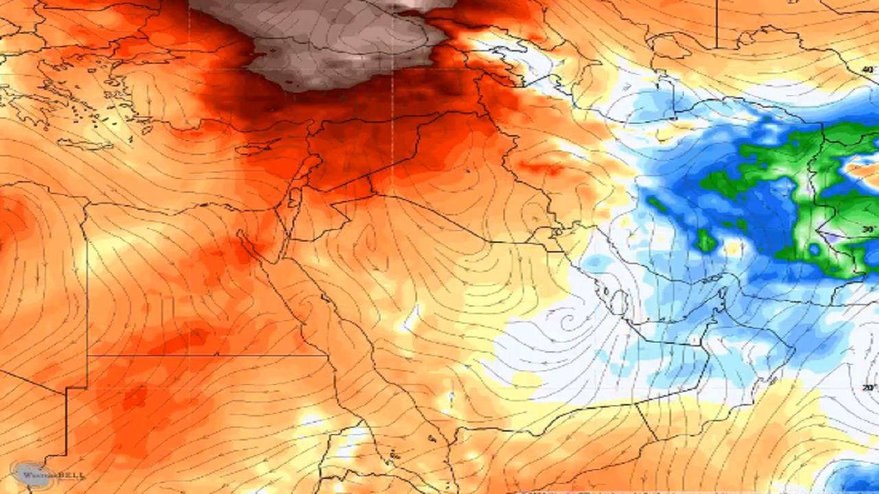 زياد الجهني متوقعا إنخفاض واضح لدرجات الحرارة الجمعة القادمة