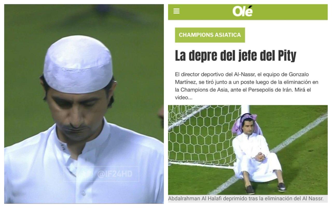 غبنة الحلافي على غلاف أشهر صحف الأرجنتين