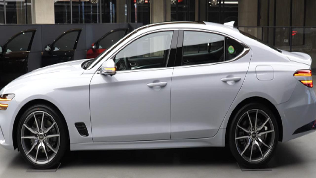 بالفيديو.. طرح سيارات G70 بألوان متعددة وتصميم مختلف