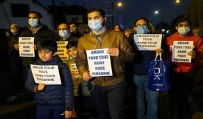 فرنسيون ينظمون وقفة ضد التطرف بعد ذبح المعلم