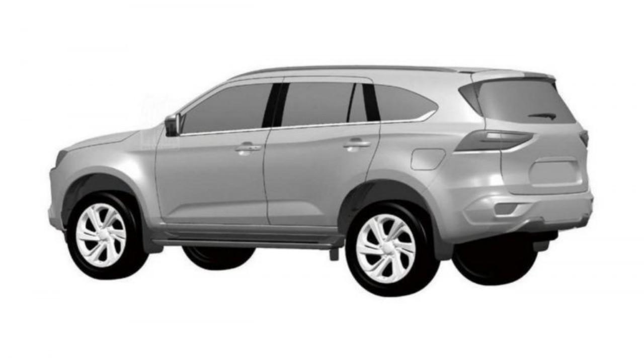 صور مسربة تكشف عن سيارة إيسوزو SUV الجديدة