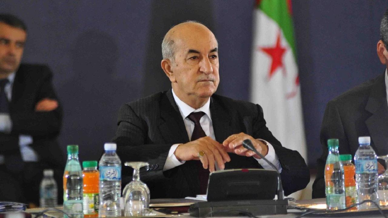 """الجزائر تعلن دخول الرئيس """"تبون"""" المستشفى"""