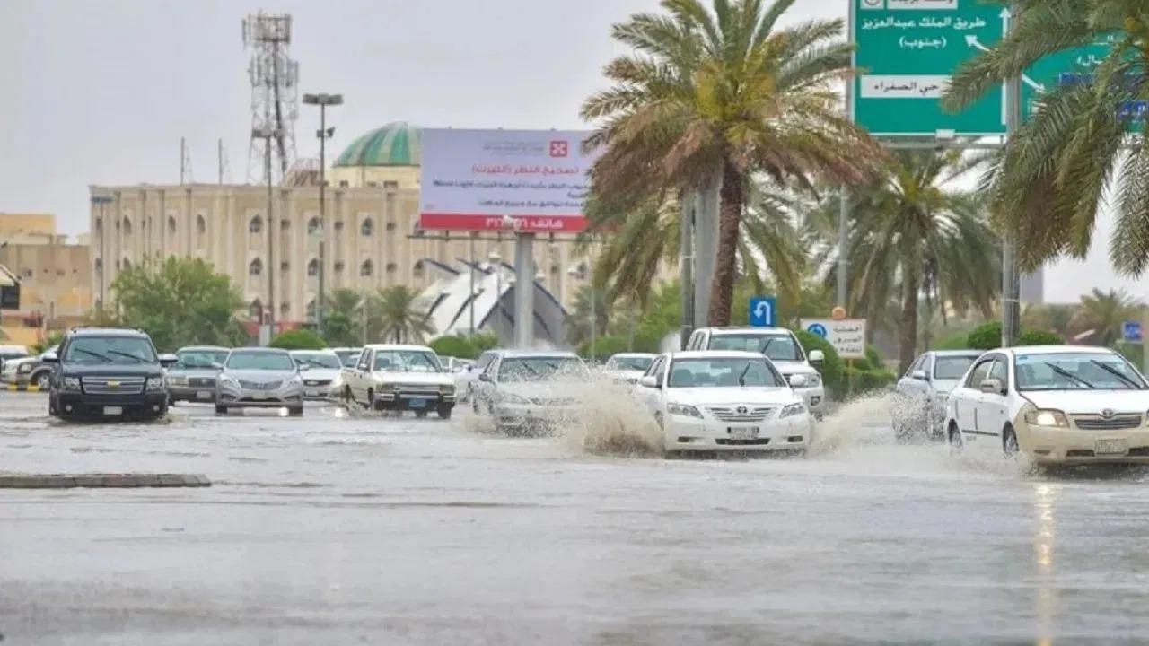 الحصيني: أمطار وحبات برد بـ 3 مناطق