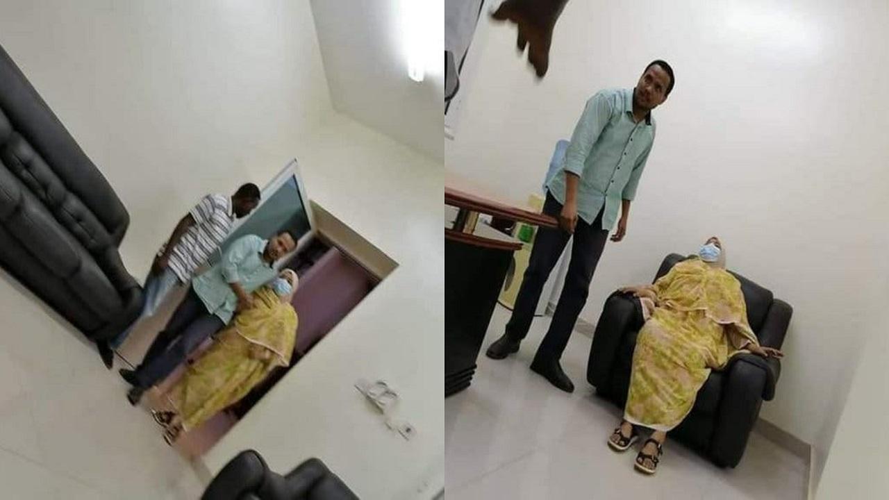 التحقيق في تصوير زوجة البشير أثناء تدهور صحتها