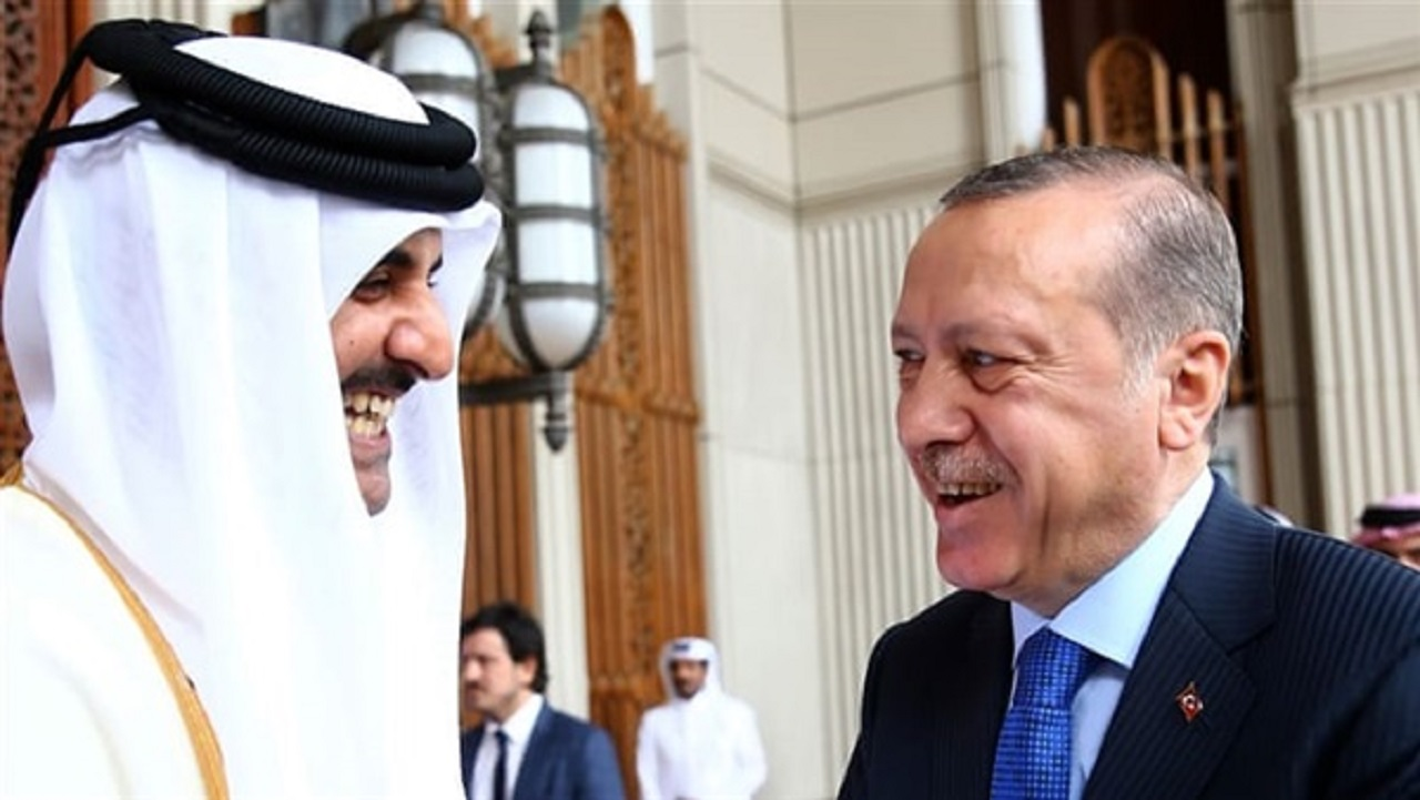 """تحالف الشر يجتمع من جديد """" أردوغان في زيارة مريبة إلى قطر """""""