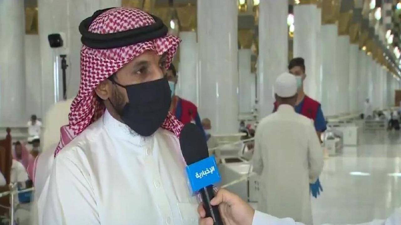 بالفيديو.. استمرار استقبال الزوار والمصلين في المسجد الحرام بإجراءات احترزية