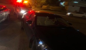 القبض على قائد المركبة ظهر في فيديو يقود بتهور وسرعة عالية بالباحة