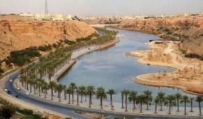 بالصور.. تسرب مياه بمحيط منتزه سد وادي نمار يشوه مظهره الجمالي