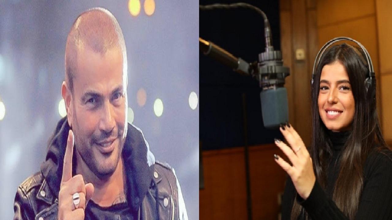 """عمرو دياب يرقص مع ابنة """" عامر منيب """" في إحدى الحفلات(فيديو)"""