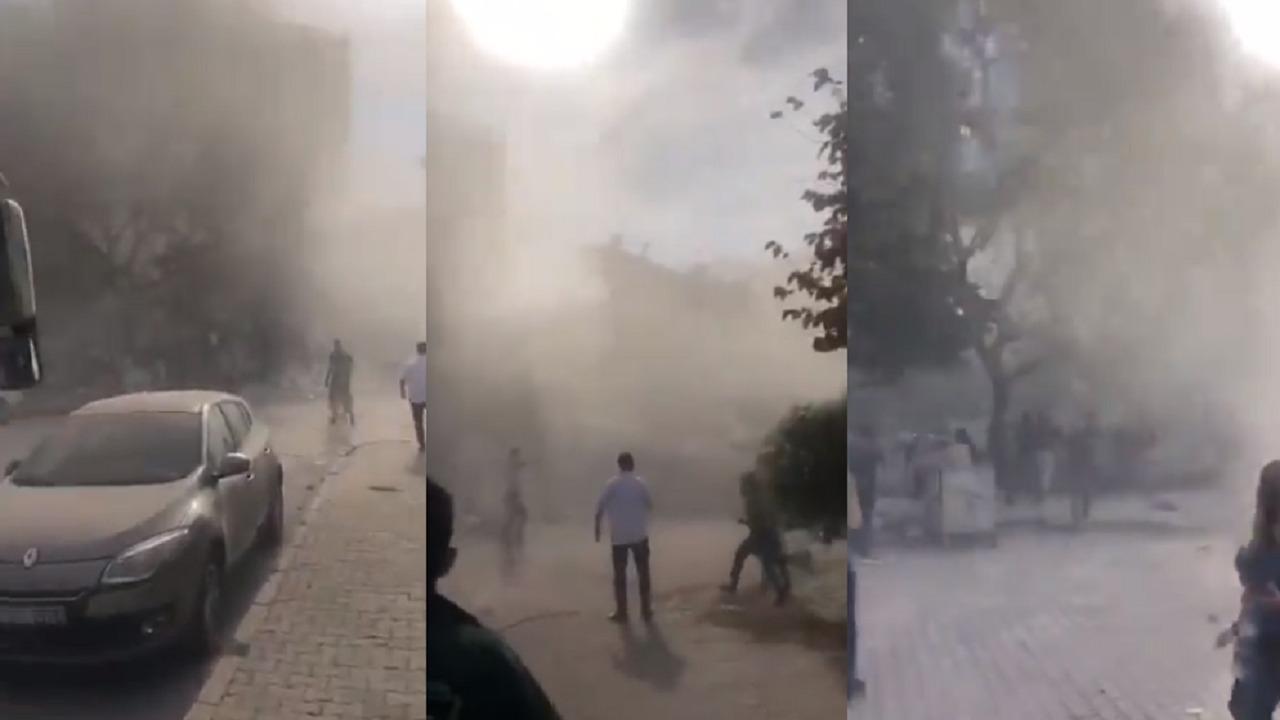 بالفيديو.. لحظة انهيار المنازل في تركيا جراء زلزال مُدمر