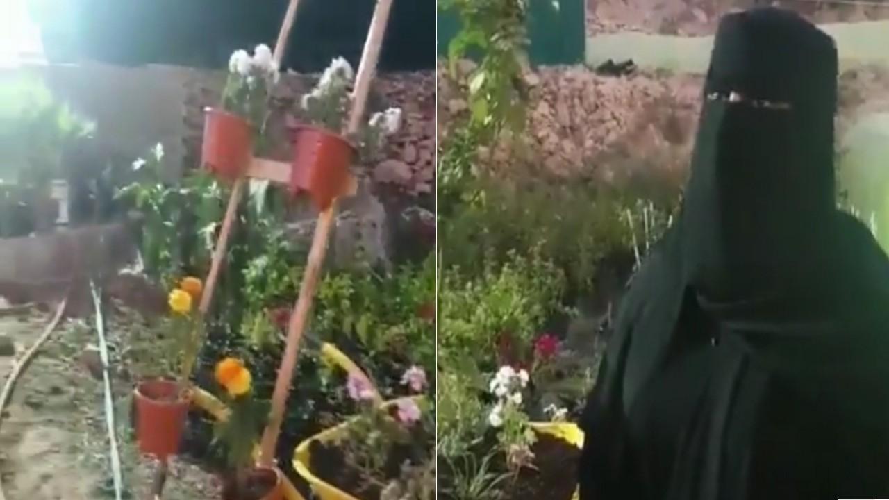 بالفيديو.. مواطنة حاصلة على مؤهلات عليا لم تجد وظيفة فذهبت للزراعة بالباحة