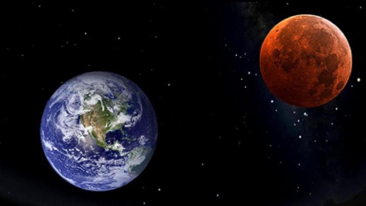 المسند : كوكب المريخ يقترب من كوكب الأرض هذه الأيام