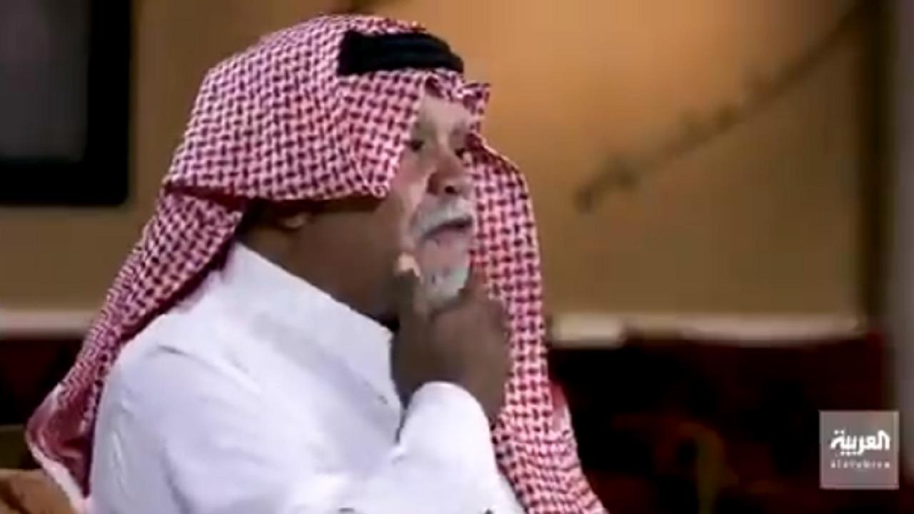 """بالفيديو.. الأمير بندر بن سلطان عن القيادات الفلسطينية: """" هذا الشيب بسببهم """""""