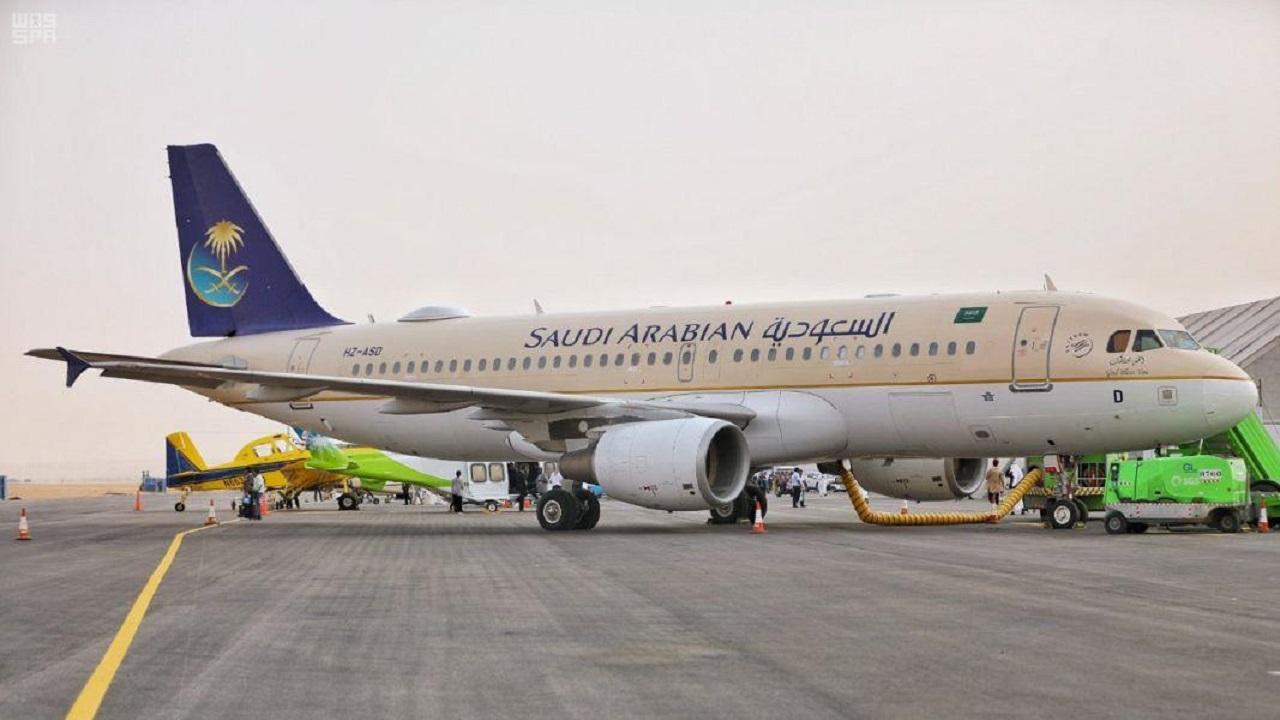 الخطوط السعودية ترفع عدد الوجهات العالمية إلى 33 للمسافرين المصرح لهم