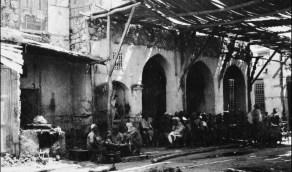صورة نادرة لمقهى في جدة قبل 103 عام