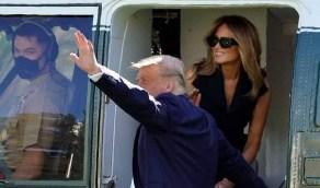 صورة مزيفة لميلانيا ترامب على متن سفينة تحدث ضجة