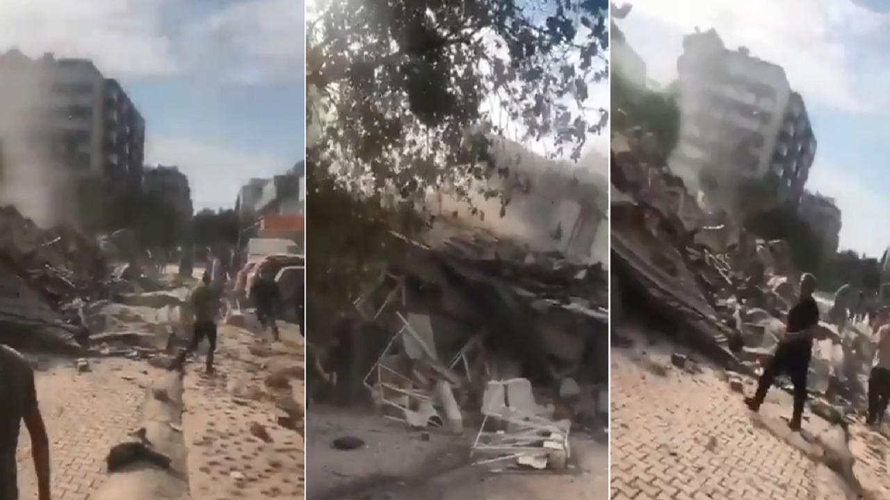 بالفيديو.. زلزال جديد يضرب أزمير التركية