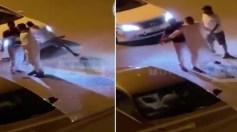 بالفيديو.. مشاجرة دموية بالسواطير في دولة عربية