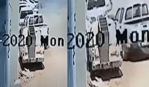 بالفيديو.. لحظة سرقة سيارة مواطن من أمام منزله في وضح النهار