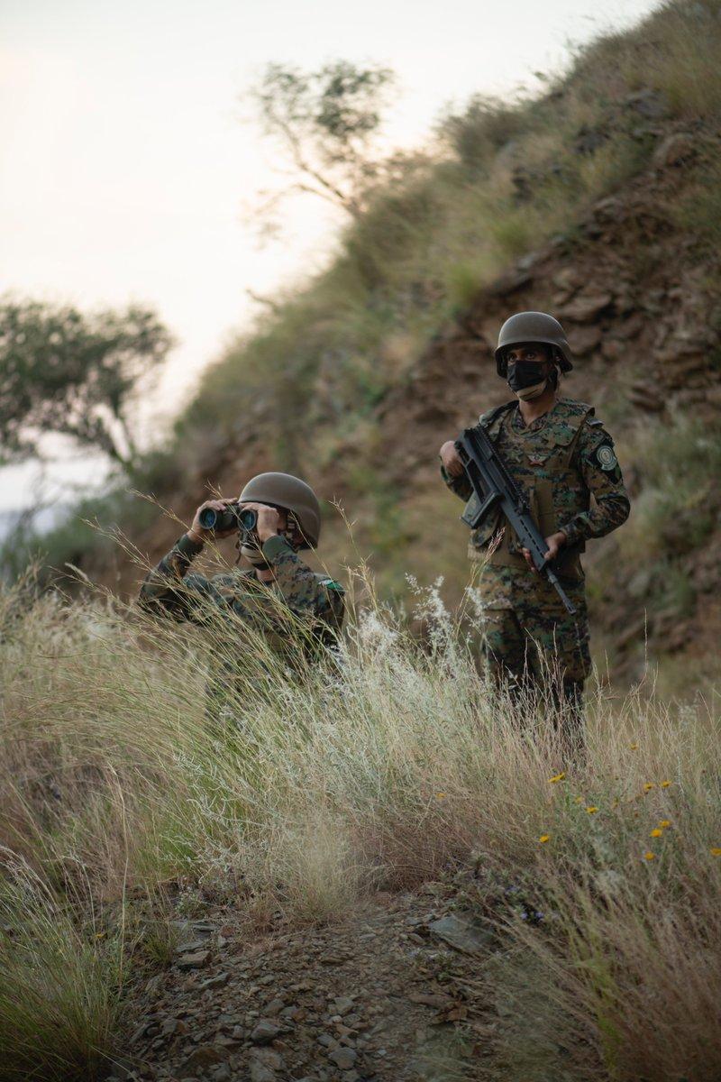 """""""صورة من الميدان"""" قوة الأفواج الأمنية بمحافظة الداير"""