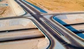 بالفيديو.. فتح تقاطع إصلاحية الدمام على طريق الدمام -الرياض السريع