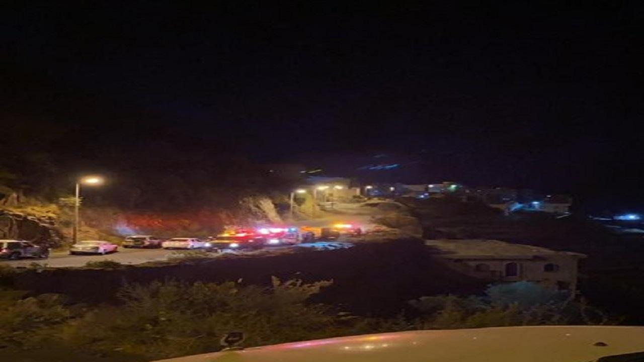 وفاة مواطن إثر سقوط مركبته من أحد منحدرات فيفاء