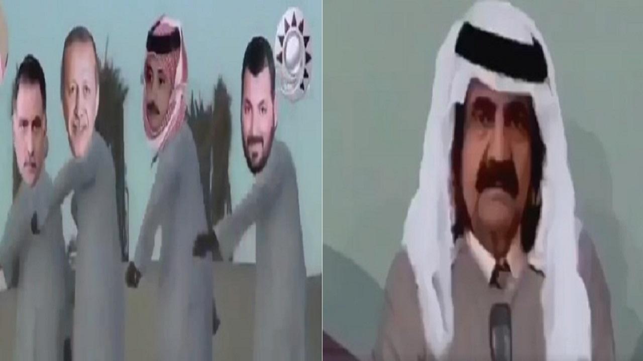 فيديو ساخر لفرقة القرادة الموسيقية التي تضم أردوغان وعزمي وحمد