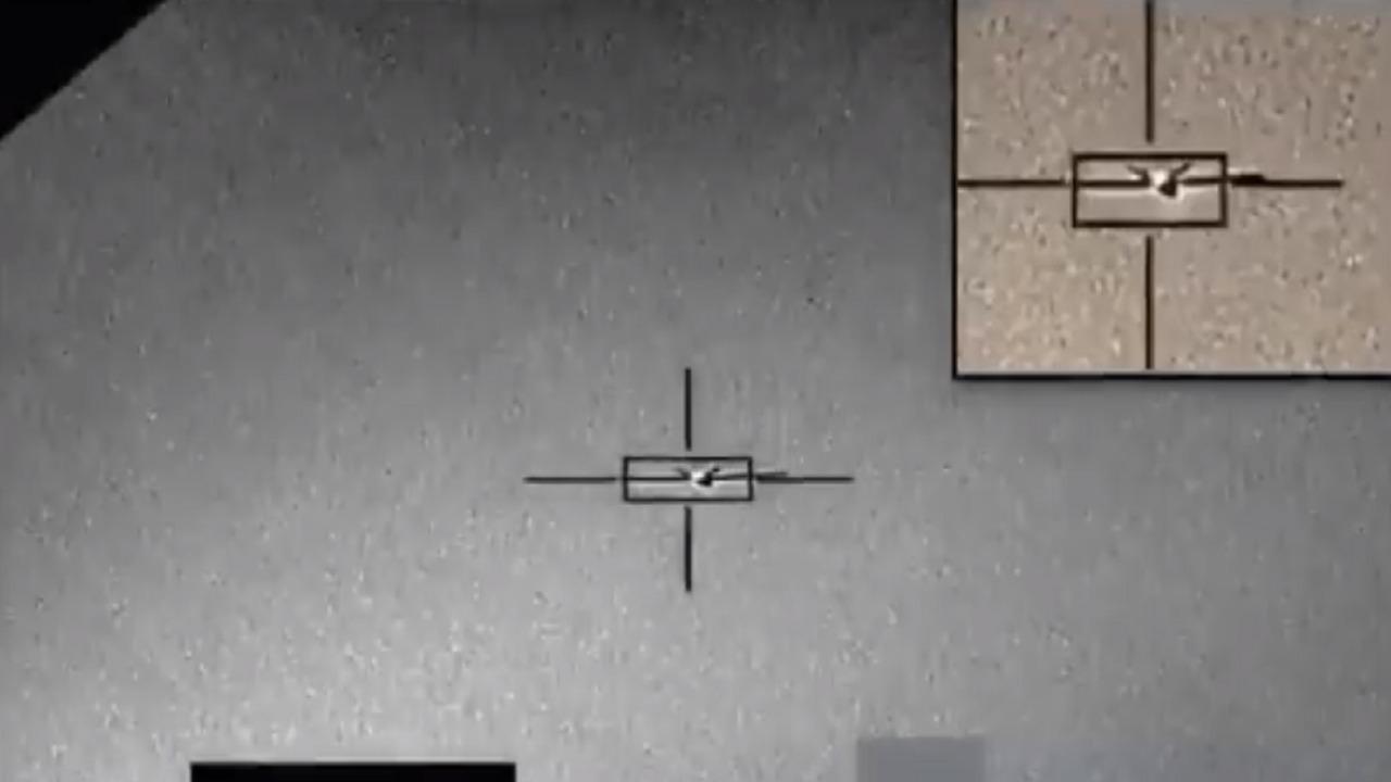 بالفيديو.. لحظة اعتراض وتدمير طائرات الحوثيين المفخخة