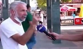 """تركي ينفجر باكيا ويتوعد أردوغان: """"سنحاسبك يوم القيامة"""" (فيديو)"""
