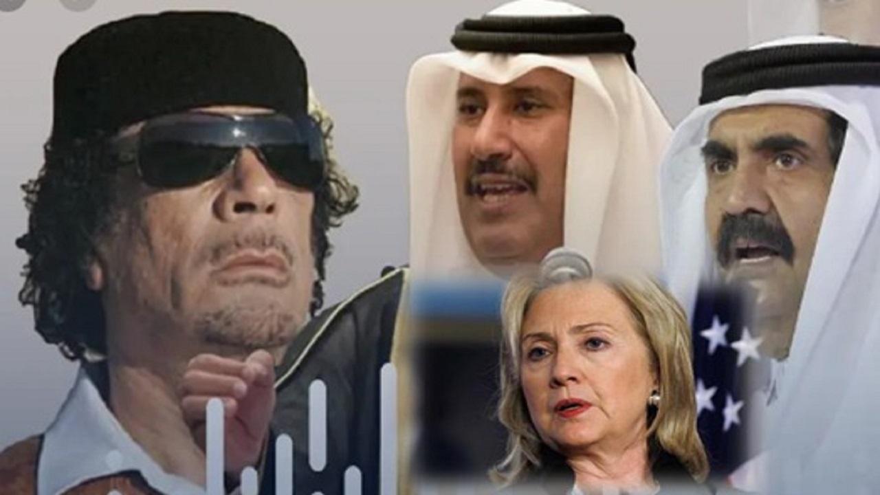 بالفيديو.. إيميلات هيلاري تفضح الخطط الخبيثة التي خططت داخل خيمة القذافي ضد المملكة