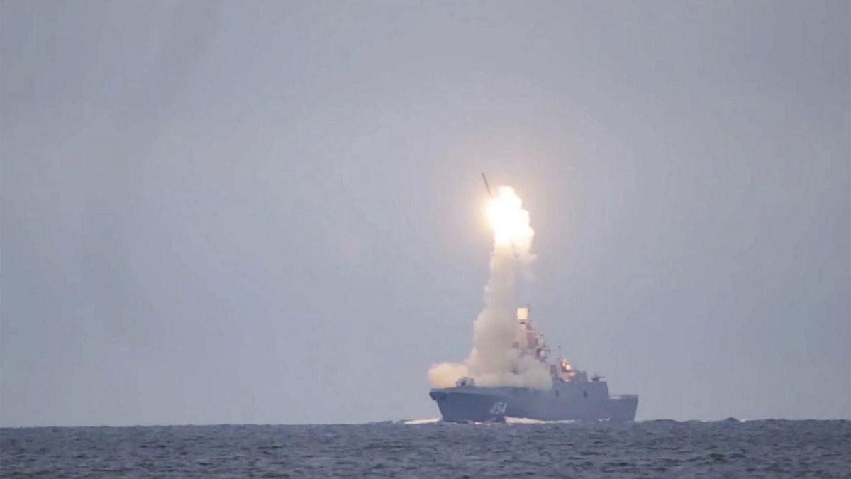 بالفيديو..لحظة إطلاق صاروخ روسي أسرع من الصوت 8 مرات