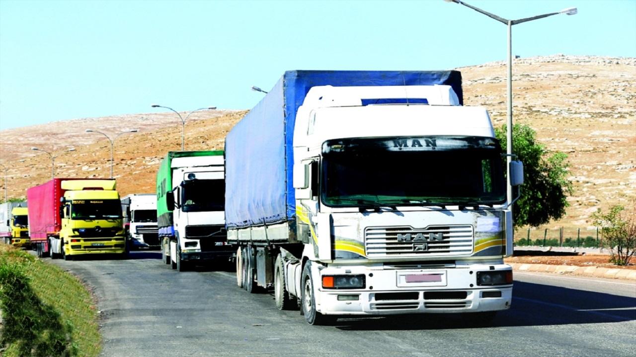 منع الشاحنات الأجنبية بالمملكة من تداول البضائع محليا
