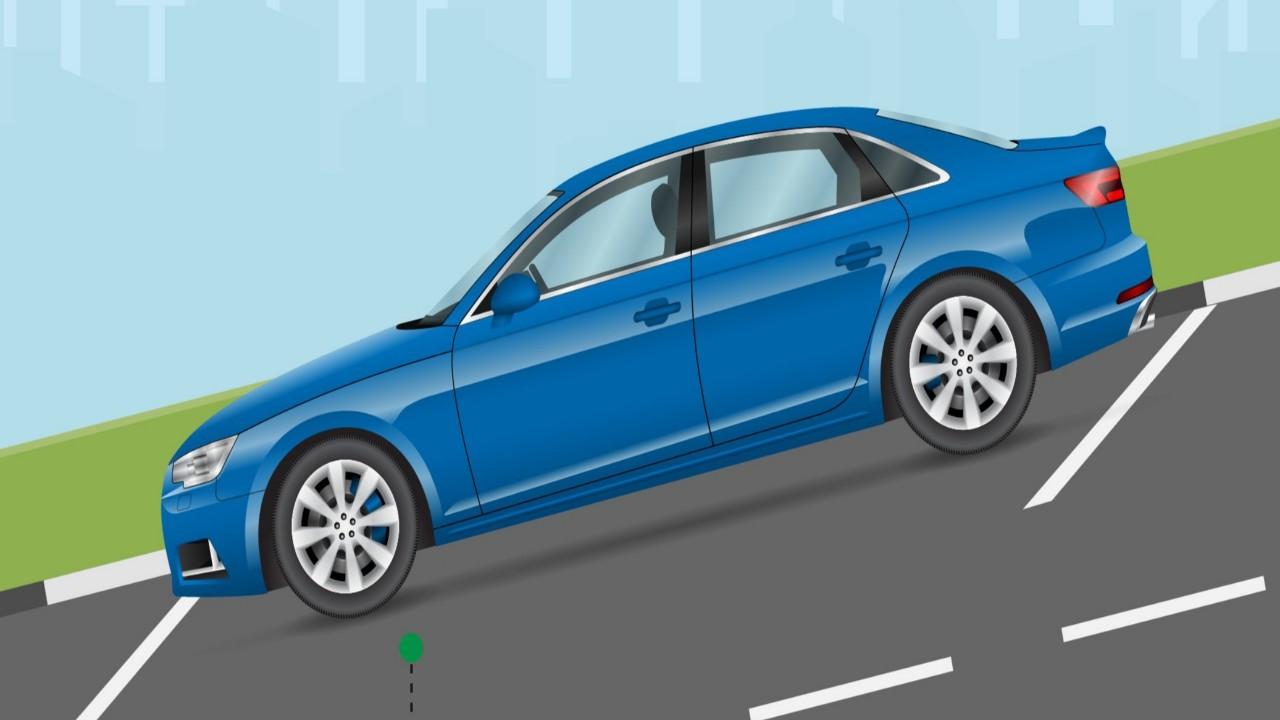 """""""المرور"""" يحدد غرامةترك المركبة في الطرق المنحدرة"""