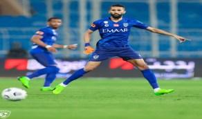 """الهلال يعلن غياب """"سلمان الفرج"""" عن تدريبات الفريق"""
